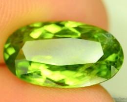 5.575  ct Untreated Top Color Green peridot ~ Pakistan