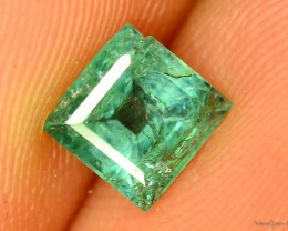 0.830 ct Untreated/Unoiled Zambian Emerald