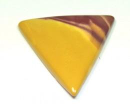 Mooakite Jasper cabochon triangle trillion