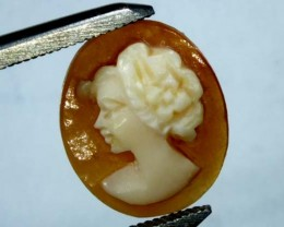 CONCH SHELL CAMEO  2.30 CTS.  CG-1582