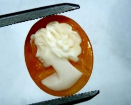 CONCH SHELL CAMEO  2.40 CTS.  CG-1585