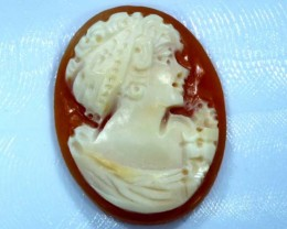 CONCH SHELL CAMEO  13.35 CTS.  CG-1599
