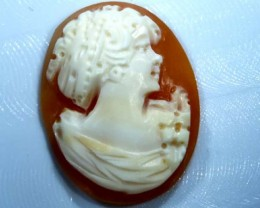 CONCH SHELL CAMEO  11.65 CTS.  CG-1600