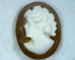 CONCH SHELL CAMEO  2.00 CTS.  CG-1607