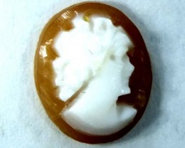 CONCH SHELL CAMEO  1.55 CTS.  CG-1619