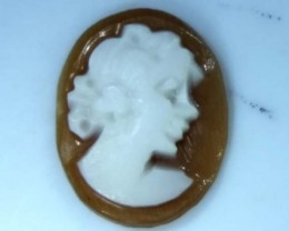 CONCH SHELL CAMEO  1.05 CTS.  CG-1623