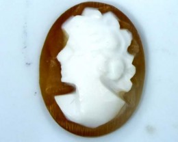 CONCH SHELL CAMEO  1.55 CTS.  CG-1635