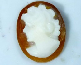 CONCH SHELL CAMEO 1.95  CTS.  CG-1639