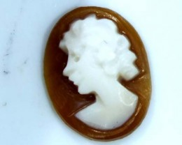 CONCH SHELL CAMEO  1.05 CTS.  CG-1646