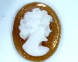 CONCH SHELL CAMEO  1.30 CTS.  CG-1651