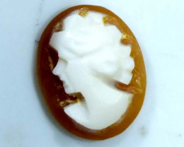 CONCH SHELL CAMEO  1.75 CTS.  CG-1652