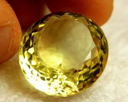 35.85 Carat VVS1 Brazilian Lemon Quartz - Lovely