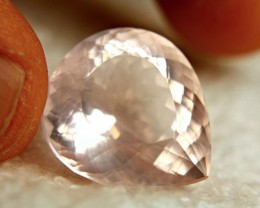 35.73 Carat VVS Brazilian Rose Quartz - Superb