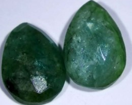EMERALD PAIR  3.60 CTS BG-177