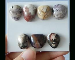 Natural Tiffany Stone Cabochon Set - 20x15x7 MM