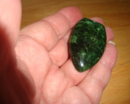 BOLD GREEN AFRICAN CORAL FOSSIL