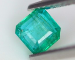 0.38Ct Natural ZAMBIAN Green Color Emerald