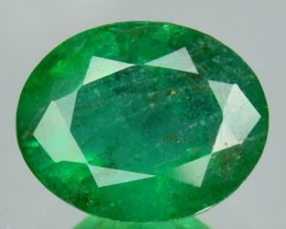 2.44Cts Untreated Natural Green Emerald Oval 1$ NR