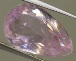 8.0 CTS PINK KUNZITE FACETED STONE   CG-1710