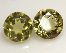 3.70 CTS  LEMON QUARTZ 2PCS    CG-1716