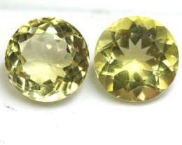 2.50 CTS  LEMON QUARTZ 2PCS   CG-1717
