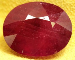 FACETED RUBY 13.2 CTS  PG-1664