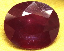 FACETED RUBY 11 CTS  PG-1667