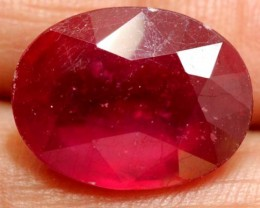 FACETED RUBY 12.10 CTS  PG-1668