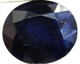 FACETED BLUE SAPPHIRE 7.20  CTS  PG-1672