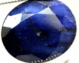 FACETED BLUE SAPPHIRE 5.25 CTS  PG-1673
