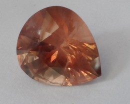 Oregon Sunstone 3.59 ct Peach and Gold Moderate Schiller JA