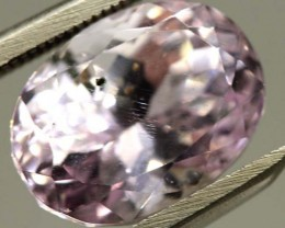 7.5  CTS PINK KUNZITE FACETED STONE    CG-1724