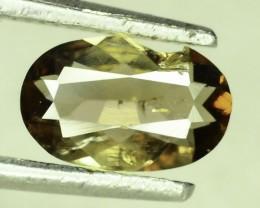 Rare 0.545 ct Multicolor Natural Axinite