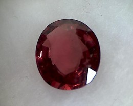 CERTIFIED 2.114ct Stunning Red Spinel Burma, THM24
