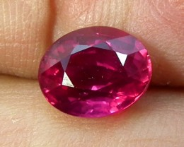 CERTIFIED RUBY  UNTREATED 2.43  CTS TBM-