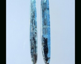Blue Kyanite  Earring Bead - 43x6x4 MM