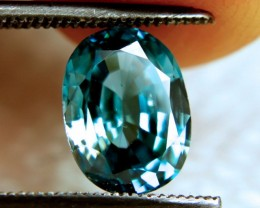 3.26 Carat VVS Blue Southeast Asian Zircon