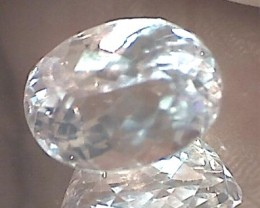 Gorgeous 9.00ct Colorless Faint Pink Oval Cut Kunzite VVS THM37