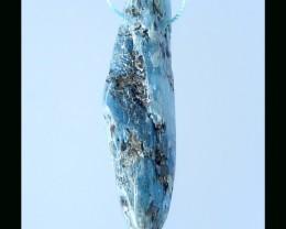 Nugget Blue Kyanite Pendant Bead - 58x14x12 MM