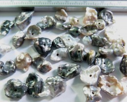 South Sea Black Keshi Pearl