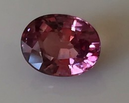 A Ravishing Hot Pink Madagascar Sapphire - Terrific color