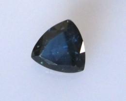 0.75cts Natural Australian Sapphire Trillion Cut