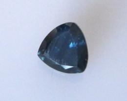 0.79cts Natural Australian Sapphire Trillion Cut