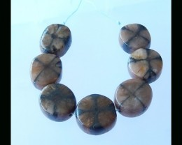 Andalusite Beads Strands For Necklace - 21x10 MM