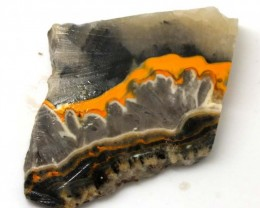 138.6 CTS BUMBLE  BEE JASPER ROUGH SLAB -INDONESIA [F5667 ]