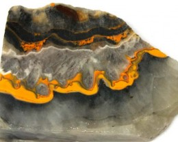 176.6 CTS BUMBLE  BEE JASPER ROUGH SLAB -INDONESIA [F5668 ]