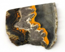 165.9 CTS BUMBLE  BEE JASPER ROUGH SLAB -INDONESIA [F5686 ]