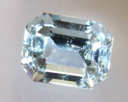 2.52cts Natural Aquamarine Emerald Cut