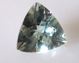 0.94cts Natural Aquamarine Trillion Cut