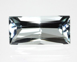1.50cts Natural Aquamarine Radiant Cut